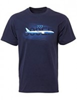 Футболка Boeing 777 Graphic Profile T-shirt