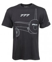 Boeing 777 Midnight Silver T-Shirt