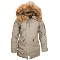 Жіноча куртка аляска Altitude W Parka Alpha Industries North-Green