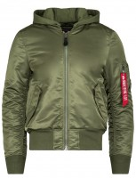 Бомбер MA-1 Natus Alpha Industries (оливковий)