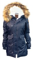 Жіноча аляска Miss Top Gun Fitted Nylon N-3B Parka Navy