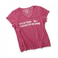 Жіноча футболка If It's Not Boeing T-Shirt Pink