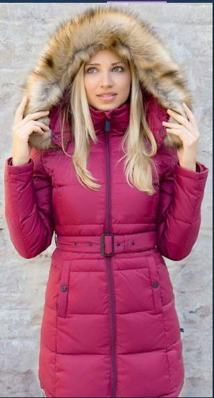 Жіночий пуховик Top Gun Nylon Insulated Down Jacket Burgundy