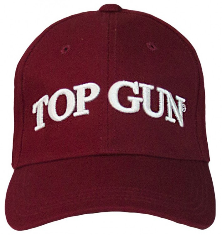 Кепка Top Gun Logo Cap Burgundy