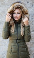 Жіночий пуховик Top Gun Nylon Insulated Down Jacket Olive