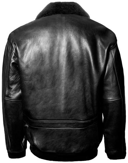 Шкіряна куртка Top Gun Military G-1 Jacket Black купить в интернет ... 97c990d0406d3