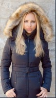 Жіночий пуховик Top Gun Nylon Insulated Down Jacket Black
