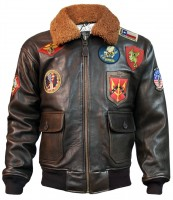 Куртка Top Gun Signature Series Jacket Brown