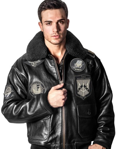 Куртка Top Gun Signature Series Jacket Black купить в интернет ... 357b4ba6b6265