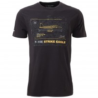 Футболка Boeing F-15E Strike Eagle Schematics T-Shirt