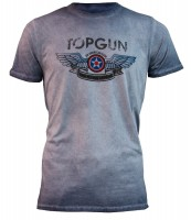 "Футболка Top Gun ""Wings Logo"" Tee Navy"