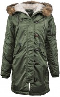 Куртка Elyse Parka Alpha Industries Olive
