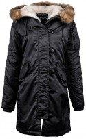 Куртка Elyse Parka Alpha Industries Black