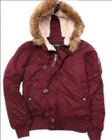 Куртка Sarah Alpha Industries Dark Burgundy