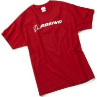 Футболка Boeing Signature T-Shirt Short Sleeve Red