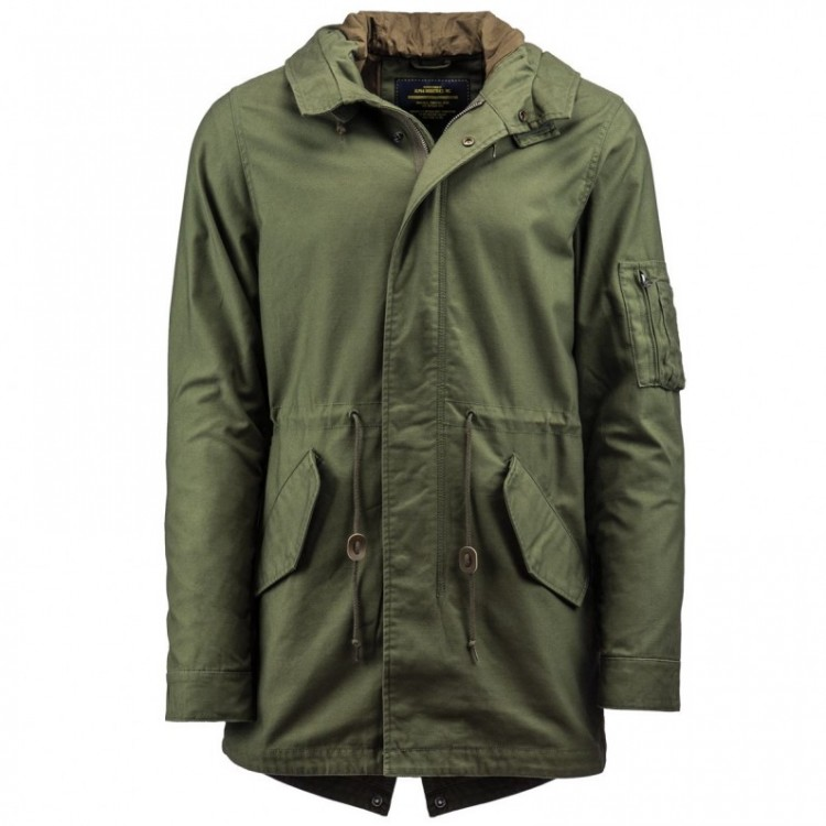 Штормівка M-59 Fishtail Alpha Industries Olive