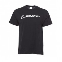 Футболка Boeing Signature T-Shirt Short Sleeve Black