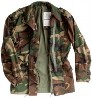 Куртка Alpha Industries M-65 Field Coat Woodland Camo