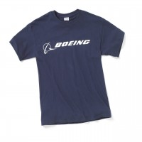 Футболка Boeing Signature T-Shirt Short Sleeve Navy