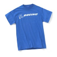 Футболка Boeing Signature T-Shirt Short Sleeve Blue Dusk