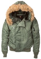 Куртка N-2B Parka Alpha Industries Olive