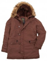 Куртка аляска Altitude Parka Alpha Industries Chestnut