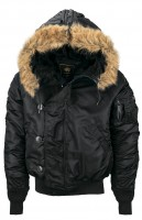 Куртка N-2B Parka Alpha Industries Black