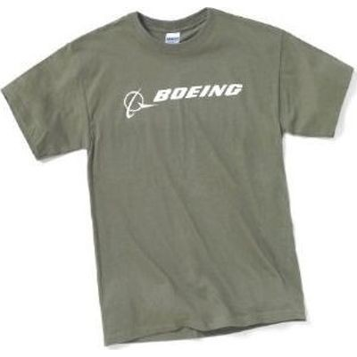 Футболка Boeing Signature T-Shirt Short Sleeve military green