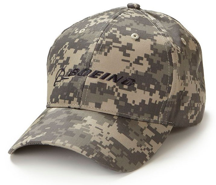 Digital Camo Boeing Logo Hat