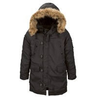 Куртка аляска Altitude Parka Alpha Industries Black