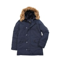 Куртка аляска Altitude Parka Alpha Industries Navy