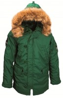 Куртка аляска Altitude Parka Alpha Industries Green