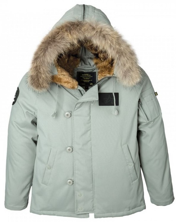 Куртка аляска N-2B Elevon Alpha Industries Alaska Green