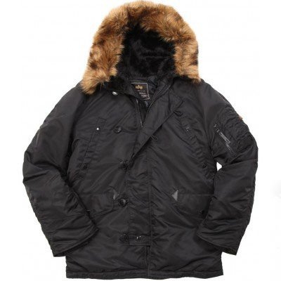 Куртка N-3B Parka Alpha Industries Black