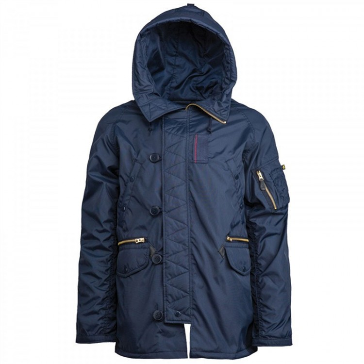 Вітровка N-3B Ambrose Parka Alpha Industries Navy