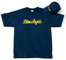 Комплект Boeing Blue Angels Hat & T-shirt Set