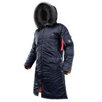 Куртка AirBoss Parka Shuttle Steel Blue