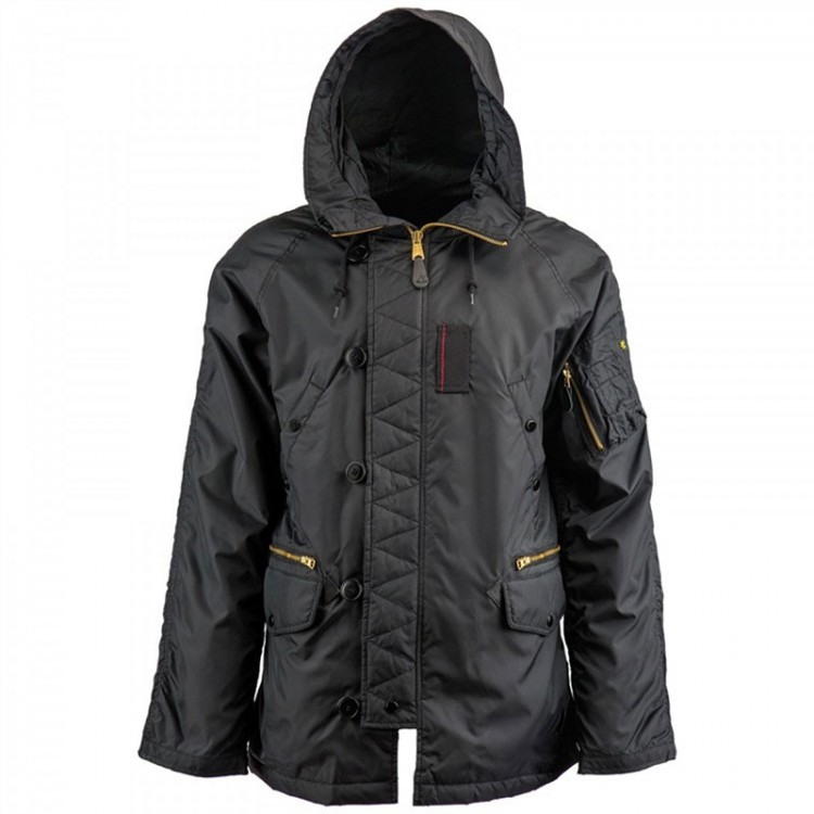Вітровка N-3B Ambrose Parka Alpha Industries Black