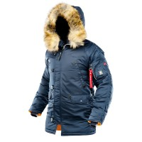 Куртка N-3B Winter Parka Airboss Blue