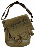 Сумка Alpha Industries Cargo Canvas Utility Bag (оливкова)
