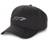 Boeing 777 Midnight Silver Hat
