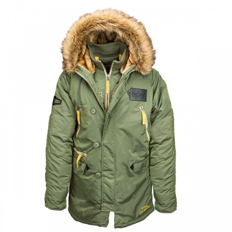 Куртка N-3B Inclement Alpha Industries Olive