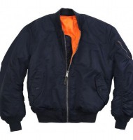 Куртка MA-1 Flight Jacket Alpha Industries Navy