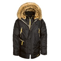 Куртка аляска N-3B Inclement Parka Alpha Industries Black