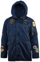Куртка парка N-3B Pilot Parka Alpha Industries Navy