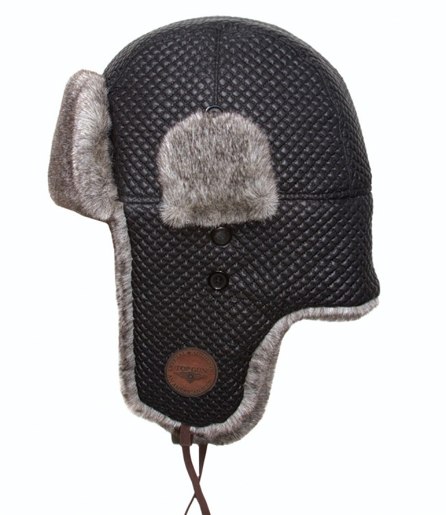 Шапка Top Gun Quilted Winter Hat (чорна)