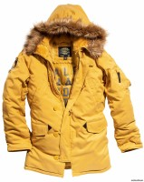 Куртка аляска Altitude Parka Alpha Industries Yellow