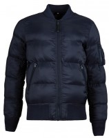 Пуховик MA-1 Echo Flight Jacket Alpha Industries Blue