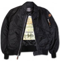 Куртка Top Gun CWU-45 Flight Jacket Black