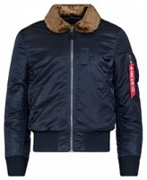 Куртка B-15 Slim Fit Alpha Industries Navy